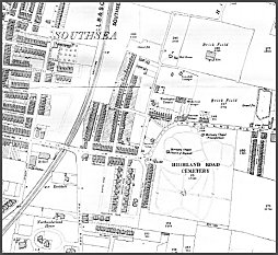 Map of East Southsea - 1896. Click to enlarge